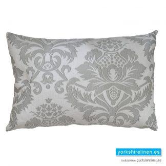 Lorena Jacquard Cushion, Grey