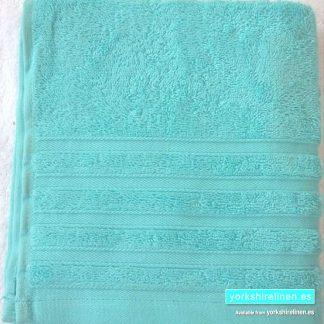 Diamond Duck Egg Blue Cotton Towels