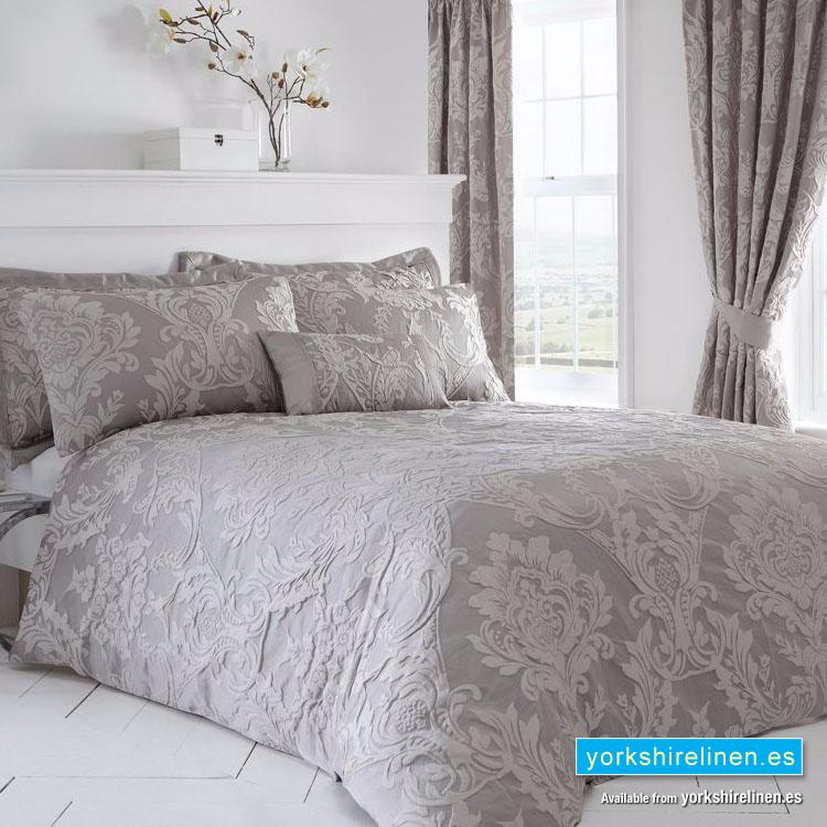 Howard Jacquard Duvet Cover Set, Damask Jacquard Bedding