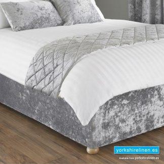 Verona Fitted Bed Wrap Silver, Yorkshire Linen, Mijas Costa, Marbella, Spain