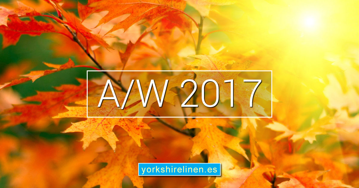 Yorkshire Linen Warehouse Spain Autumn Winter Collection
