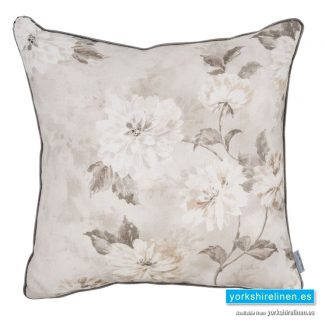 Romantic Flower Feather Filled Cushion from Yorkshire Linen Warehouse, Mijas Costa, Marbella