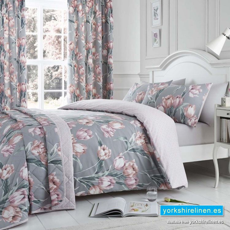 Tulip Blush Duvet Cover Set Yorkshire Linen Beds And More