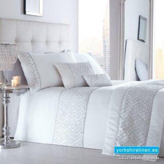 Shimmer White Duvet Cover Set