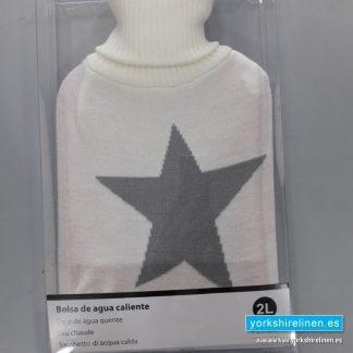Water Bottle - Star Cream