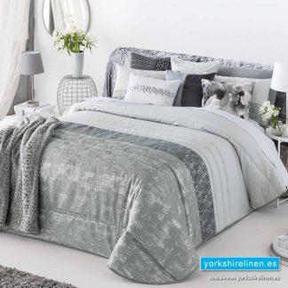 Alessi Grey Bedspread - Yorkshire Linen Warehouse Spain
