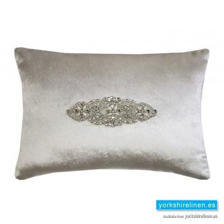 Kylie Minogue Palermo Oyster Cushion from Yorkshire Linen Warehouse