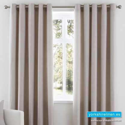 Nevada Taupe Curtains from Yorkshire Linen Warehouse