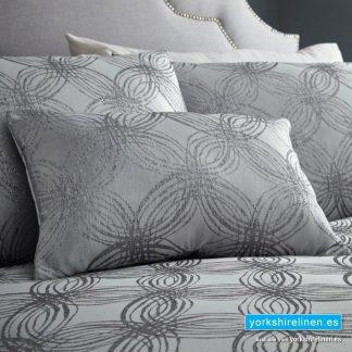 Luna Pewter Boudoir Cushion