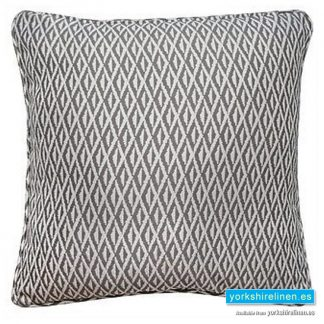 Phoenix Jacquard Charcoal Cushion - Yorkshire Linen Warehouse