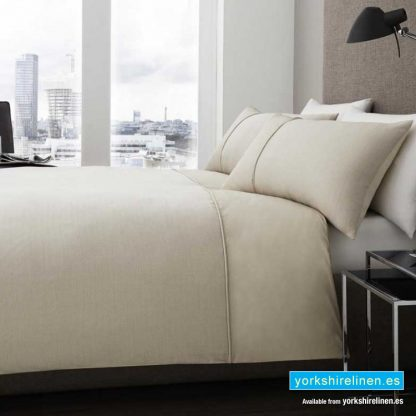 Signature Harrison Natural Duvet Cover Set - Yorkshire Linen Warehouse, Spain