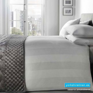 Signature Padua White Duvet Cover Set - Yorkshire Linen Warehouse, Spain