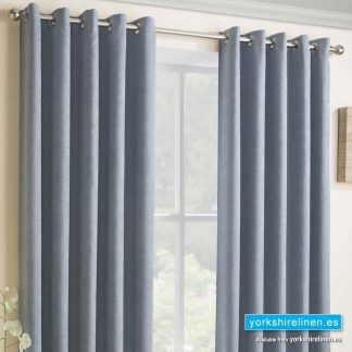 Vogue Duck Egg Ring Top Blackout Curtains - Yorkshire Linen Warehouse