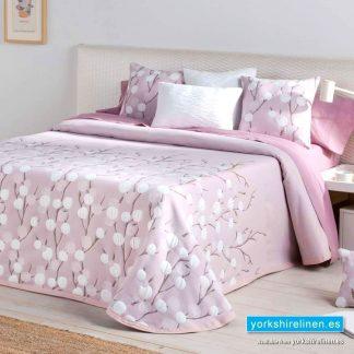 Ambar Pink Bedspread