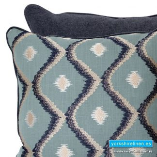 Diamond Embroidered Design Cushion