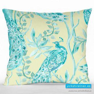 Oriental Peacock Cushion