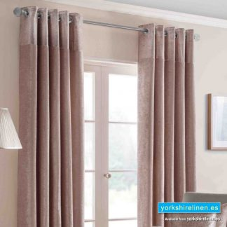 Nova Blush Ring Top Curtains