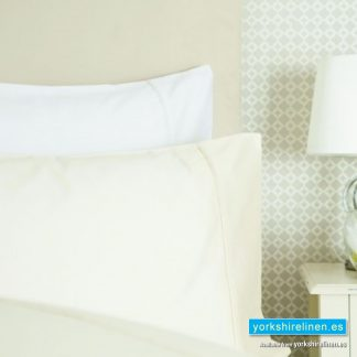 Bel 600TC Cotton Sateen Continental Pillowcase White