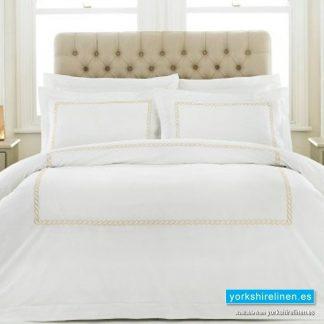 Cleopatra 100pc Cotton Gold Duvet Cover Set