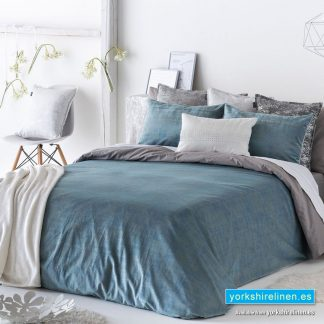Baker Duvet Cover, Denim - Yorkshire Linen Warehouse Mijas Marbella