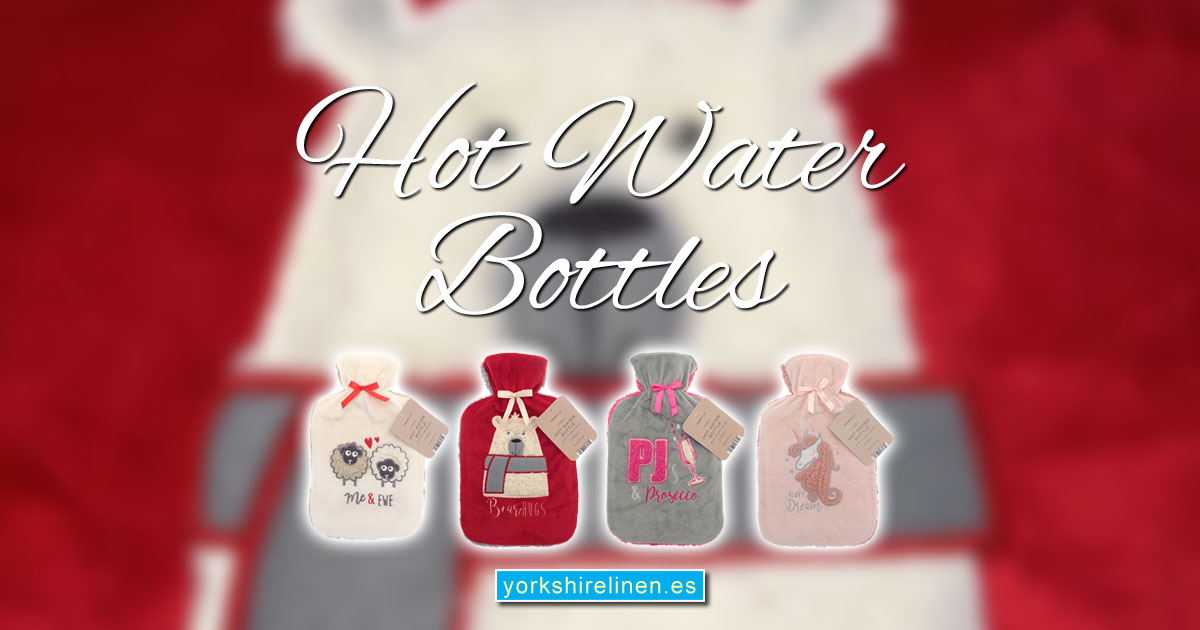 Hot Water Bottles for Autumn 2018