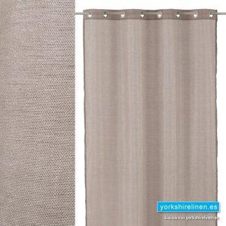 Metallic Linen Curtains Grey - Yorkshire Linen Warehouse, Mijas Marbella