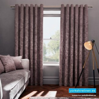 Naples Ring Top Curtains, Heather