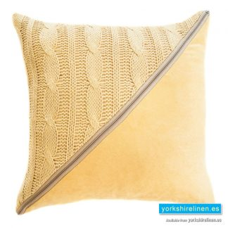 Slow Cushion Natural - Yorkshire Linen Warehouse Mijas Marbella