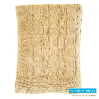 Slow Throw Natural - Yorkshire Linen Warehouse Mijas Marbella