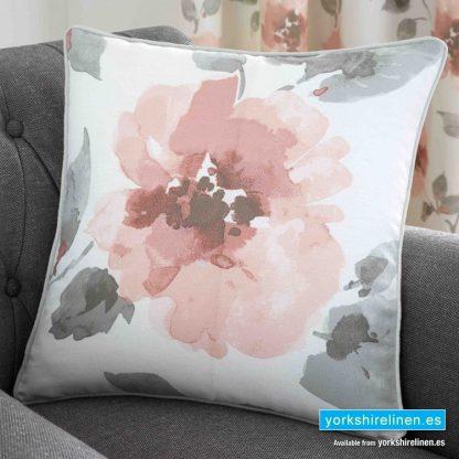 Adriana Floral Blush Cushion - Yorkshire Linen Warehouse Mijas Prestige Marbella