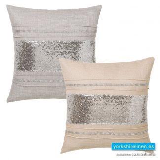 Comet Diamante Square Cushions - Yorkshire Linen Warehouse Mijas Prestige Marbella