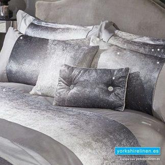 Heidi Velvet Bolster Cushion - Yorkshire Linen Warehouse Mijas Prestige Marbella