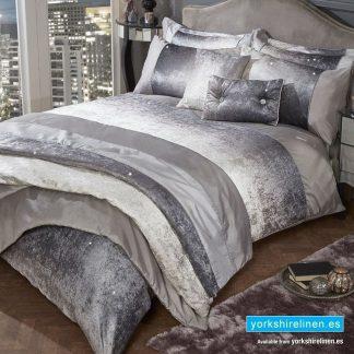 Heidi Velvet Duvet Cover Set - Yorkshire Linen Warehouse Mijas Prestige Marbella