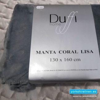 Lisa So Soft Throw Silver - Yorkshire Linen Warehouse Mijas Prestige Marbella