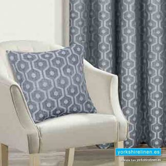 Milano Silver Cushion Cover - Yorkshire Linen Warehouse Mijas Prestige Marbella