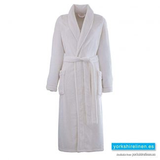 So Soft Cream Dressing Gown - Yorkshire Linen Warehouse Spain