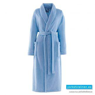 So Soft Duck Egg Dressing Gown - Yorkshire Linen Warehouse Spain