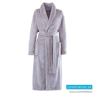 So Soft Neutral Dressing Gown - Yorkshire Linen Warehouse Spain