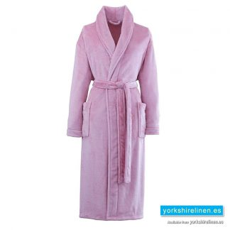 So Soft Pink Dressing Gown - Yorkshire Linen Warehouse Spain
