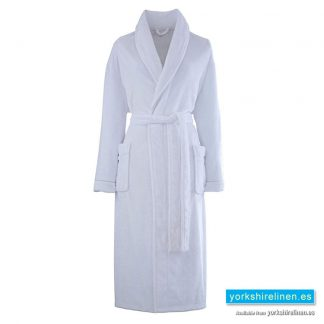 So Soft Whtie Dressing Gown - Yorkshire Linen Warehouse Spain