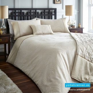 Tandie Natural Duvet Cover Set - Yorkshire Linen Warehouse Mijas Prestige Marbella