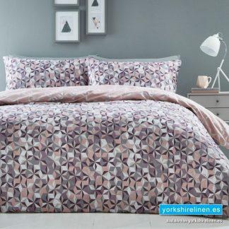 Oracle Pink Duvet Cover Set - Yorkshire Linen Warehouse Mijas Prestige Marbella