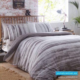 Origin Charcoal Duvet Cover Set - Yorkshire Linen Warehouse Mijas Prestige Marbella