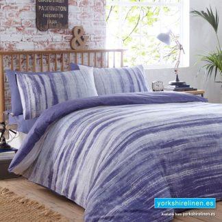 Origin Indigo Duvet Cover Set - Yorkshire Linen Warehouse Mijas Prestige Marbella