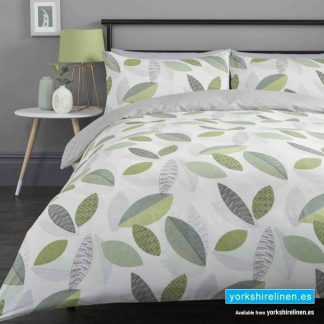 Tazio Green Duvet Cover Set - Yorkshire Linen Warehouse Mijas Prestige Marbella