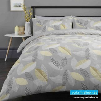 Tazio Grey Duvet Cover Set - Yorkshire Linen Warehouse Mijas Prestige Marbella