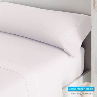 Luxury 300 Thread Count Sateen Duvet Cover White
