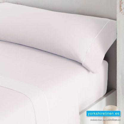 Luxury 300 Thread Count Sateen Duvet Cover White