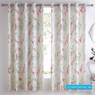Celine Multi Eyelet Curtains - Yorkshire Linen Warehouse Mijas Marbella