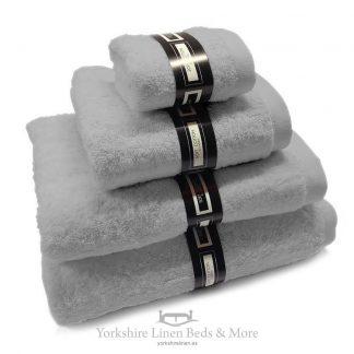Ambassador Towels Silver Yorkshire Linen Beds & More P01